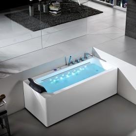 Baignoire Balneo rectangulaire HAMILTON Zeland® 160 x 75 -Droite