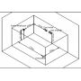 Baignoire balneo rectangulaire NOVA Zeland 170x81